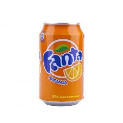 Fanta naranja 33 cl.