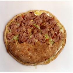 Pan de arabo de atún en aceite